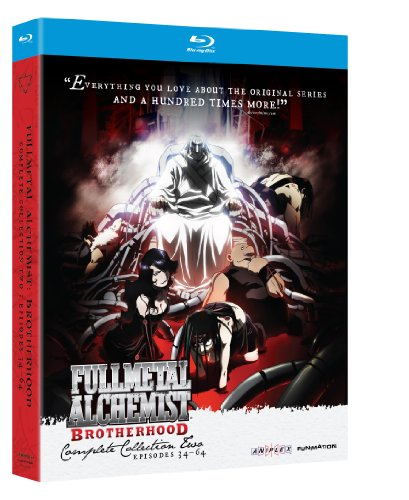 Cover art for  Fullmetal Alchemist: Brotherhood - Complete Collection Two [Blu-ray]