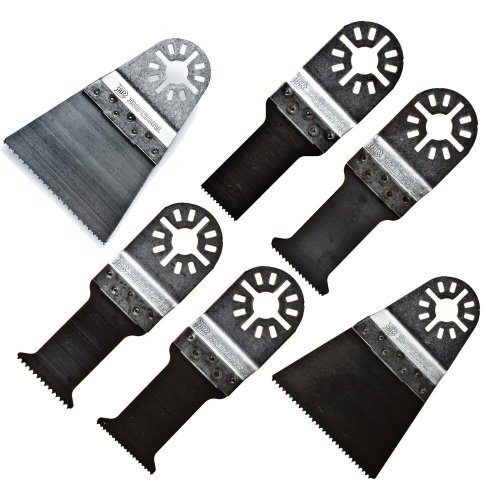 Imperial Blades 10Mmv 10 Blade Variety-Pack Universal Oscillating Wood And Bi-Metal Blades back-305663