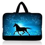 Blue Running Horse 13