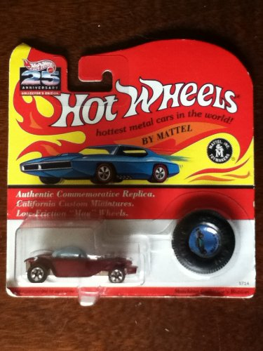 Hot Wheels Vintage Collection Beatnik Bandit Authentic Commemorative Replica California Custom Dark Green Sparkle - 1