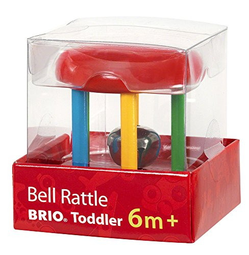 Brio Multicoloured Bell Rattle - 1