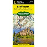 National Geographic Banff North (Banff and Yoho National Parks) Map: Trails Illustrated National Parks