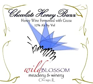 NV Wild Blossom Meadery & Winery Chocolate Honey Buzz Mead 500 mL