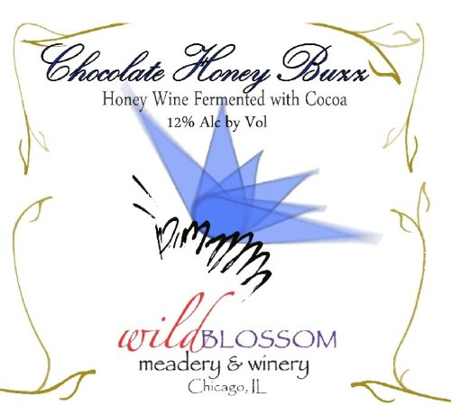 Nv Wild Blossom Meadery & Winery Chocolate Honey Buzz Mead 500 Ml
