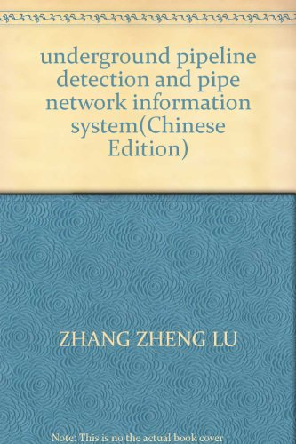 underground-pipeline-detection-and-pipe-network-information-systemchinese-edition
