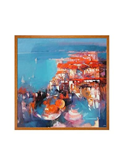 "Alex Bertaina ""Mare Nostrum"" Framed Canvas Print"