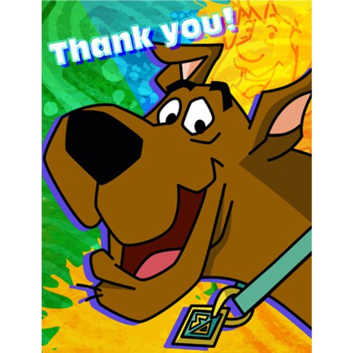 Scooby-Doo Mod Mystery Thank You Notes Party Accessory