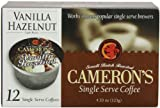 Camerons Vanilla Hazelnut Single Serve Coffees,  12-Count