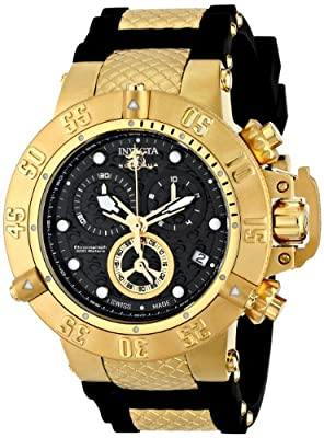 Invicta Men's 15799 Subaqua Analog Display Swiss Quartz Black Watch