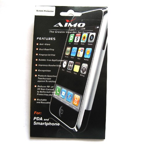 Apple iPod Touch 2nd & 3rd Generation Transparent LCD Screen Protector