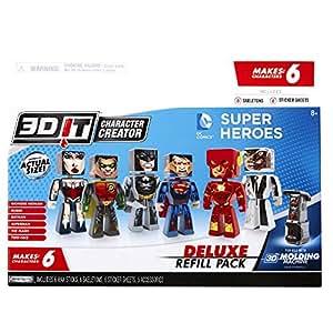 Buy 3d character creator dc comics deluxe refill pack for 3d creator online