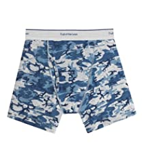 Fruit of the Loom Boys' 5pk Print/Solid Boxer Brief
