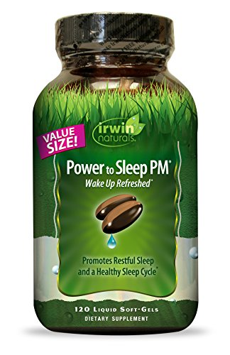 Irwin Naturals Power to Sleep Pm Economy Diet Supplement, 120 Count