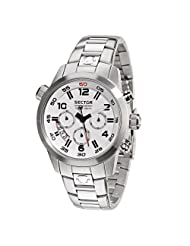 Sector OVERSIZE 42MM Men's Stainless Steel Case Chronograph Watch R3273702045