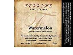 NV Ferrone Family Winery Watermelon 750 mL