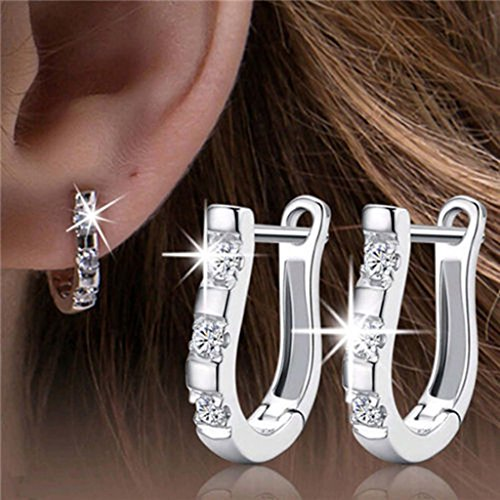 DDU(TM) Charming Women's Sterling Silver Ear