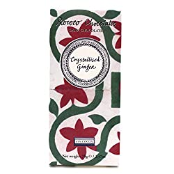 Crystallised Ginger Organic Dark Chocolate Artisan Bar