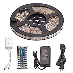 Led Strips Lighting Kit 5050 Waterproof Colour Changing Decoration LED Flexible Strip for Home Kitchen Cabinet TV Lighting Decoration