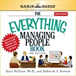 The Everything Managing People Book (       ABRIDGED) by Deborah S Romaine, Gary McLain Narrated by Michael Coon