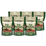 6-PACK Beef Pill Pockets LARGE 47.4 oz (180 pockets)