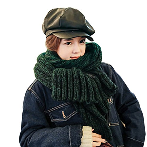 Unisex Couple Style Fashion Winter Warm Knitting Wool Extra Long Wide And Thick Scarf Shoulder Wrap Hood Shawl (Extra Wide Pashmina compare prices)