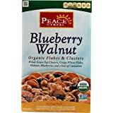 Peace Cereal Organic Flakes & Clusters Blueberry Walnut 11 Oz (Pack Of 3)