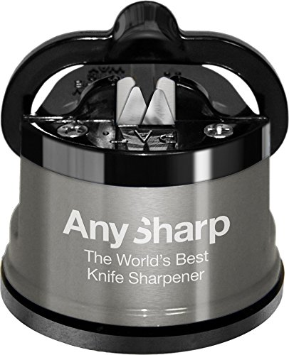 AnySharp Pro Knife Sharpener, Metal