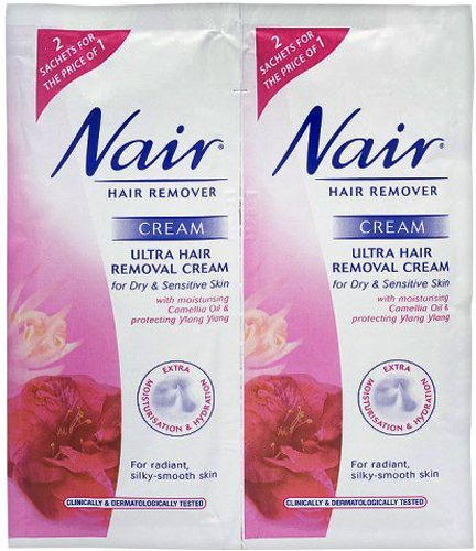 nair-ultra-hair-removal-cream-for-dry-sensitive-skin-sachets-2-x-30ml