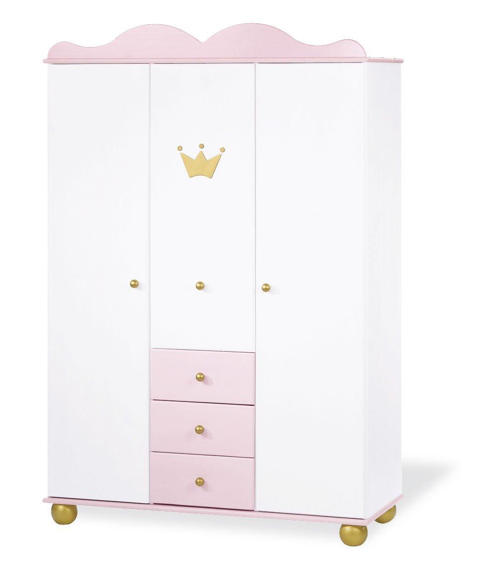 Pinolino 141655G - Kleiderschrank Prinzessin Karolin groß