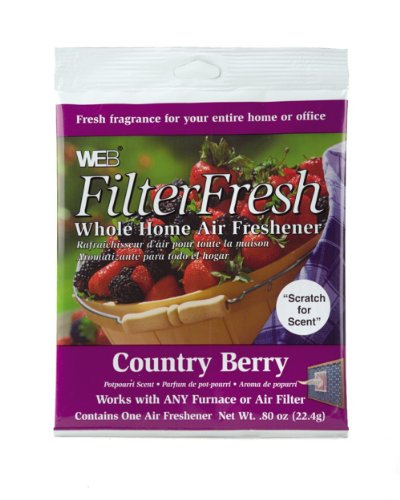 Scented Furnace Air Freshener Pad-CBRRY FLTR AIR FRESHENER