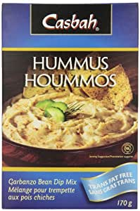 Casbah Hummus Mix, 6 Ounce (Pack of 12)