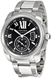 Cartier Men's W7100016 Calibre De Cartier Black Dial Watch