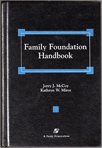 Family Foundation Handbook written by Jerry J. McCoy