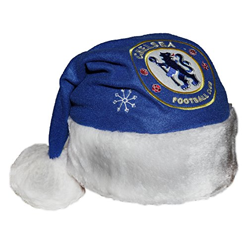 Chelsea FC Novelty Christmas Santa Hat