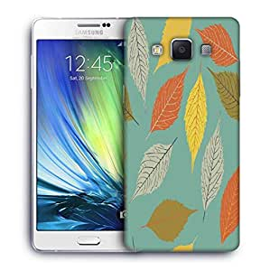 Snoogg Colorful Leaves Designer Protective Phone Back Case Cover For Samsung Galaxy ON5