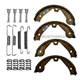 Brake Shoe Set Hand Brake and Springs / Accessories for BMW 3-Series E36 316 318 320 323 325 328 12/1990 - 08/2000, Z1 2.5 09/1990 - 06/1991, Z3 E36 1.8 1.9 2.0 2.2 2.8 3.0 05/1997 - 12/2002