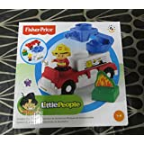 Fisher-Price Little People Builders Fire Truck