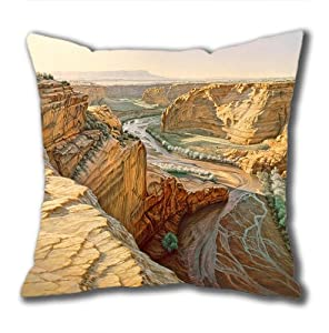 Illustration Painting Hold On Tight Standard Size Design Square Pillowcase/Cotton Pillowcase with Invisible Zipper in 40*40CM 16*16(527)-527020 by Square Pillowcase