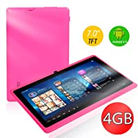 "7"" inch Capacitive Touch Screen Allwinner A13 1.0GHz CPU (up to 1.5GHz maximumly)Processor Android 4.0.3 (Latest Ice Cream Sandwich OS) Tablet PC 4GB HDD 512MB WiFi MID Epad Flash Player 11.1 - Compatible with BBC iPlayer / Youtube / Facebook by Dx-mall f"