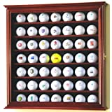 """49 Golf Ball Display Case Cabinet Holder Rack w/ UV Protection (Misc.)By sfDisplay        Buy new: $69.99    Customer Rating:     First tagged """"golf ball"""" by Sam """"Sam"""""""