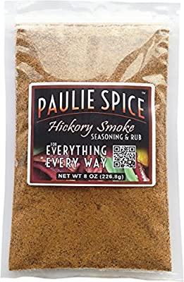 Paulie Spice : Sweet Hickory Smoke BBQ Seasoning and Rub For: Steak, Ribs, Rib, Meat, Pork, Chicken, Wings, Beef, Brisket, Salmon, Prime Rib, Fish, Grill, Grilling, Smoked, Barbecue, Dry, Rubs, Spices by Paulie Spice, Inc.