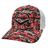 half price on feet shots of fast delivery UPC 840041112658 - Evoshield Snapback Hat White Digi Camo Black ...