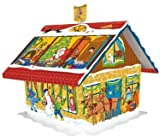 3D House German Chocolate Advent Calendar by Windel by Windel [並行輸入品]