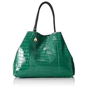 BIG BUDDHA Jcecila Shoulder Bag,Green,One Size