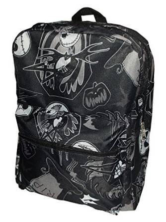 Nightmare Before Christmas Full Size Backpack (Black) - 16
