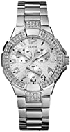 GUESS G12557L Stainless Steel Bracelet Watch  Silver