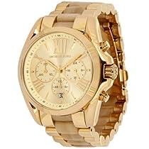 Hot Sale Michael Kors MK5722 WBradshaw Gold and Horn Watch