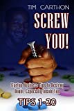 img - for SCREW YOU!: Startup Business Tips to Destroy Doubt, Especially Inside You (Tips 1-20) (SCREW YOU! Startup Business Tips v.1) book / textbook / text book