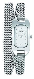 Opex - X0391MA1 - Ballerine - Montre Femme - Quartz Analogique - Cadran Acier Brossé - Bracelet Maille Milanaise