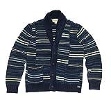 (デニム&サプライ ラルフローレン)Denim&Supply Ralph Lauren カーディガン Striped Shawl-Collar Cardigan インディゴストライプ Indigo Stripe (XL) [並行輸入品]